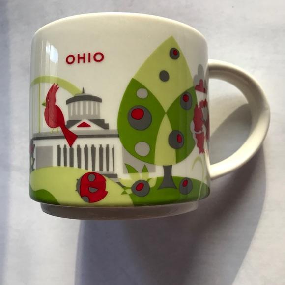Starbucks You Are Here Lucerne Ceramic Coffee Mug New with Box